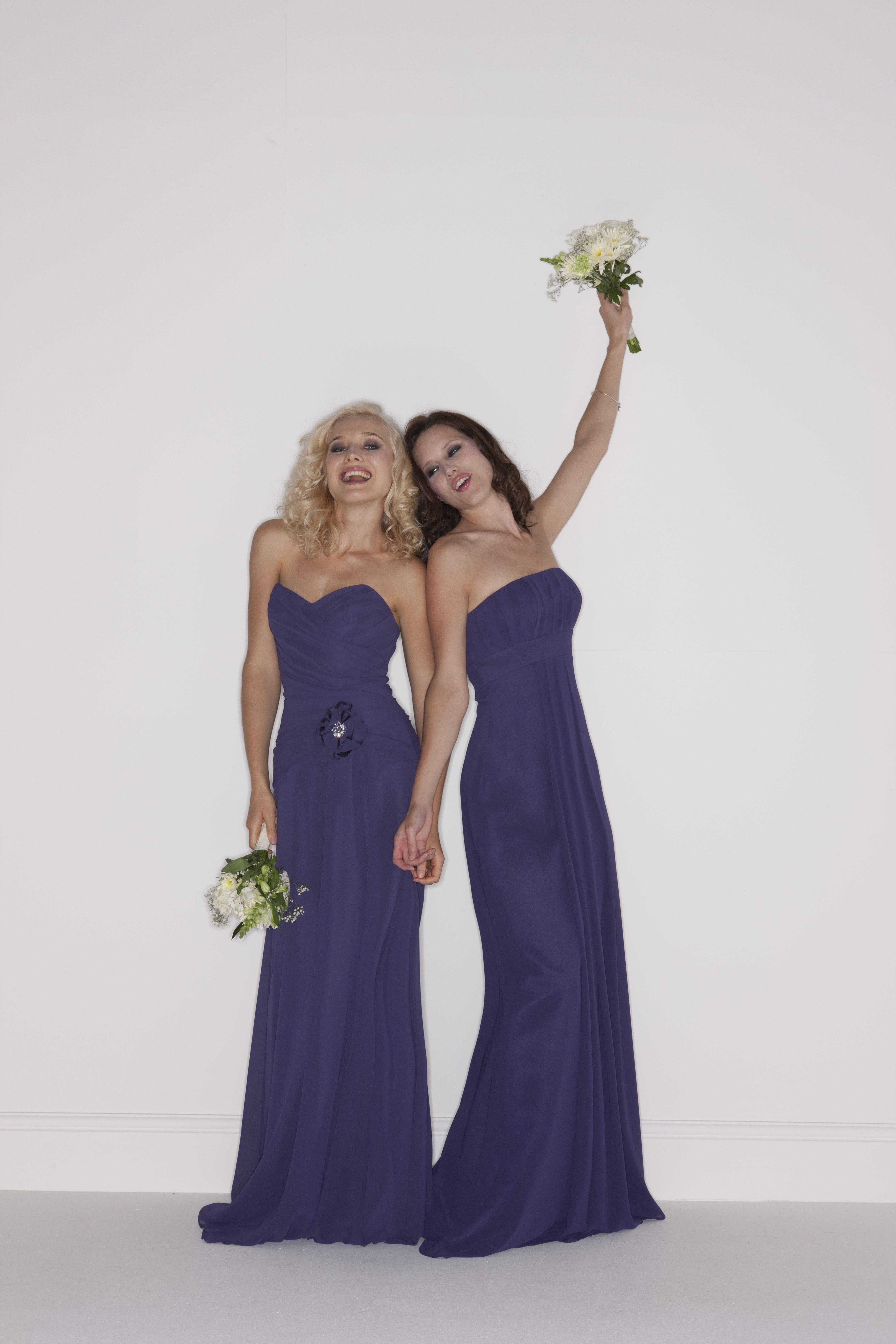 Romantica Bridesmaid dress, Cora (left), from our 2011 collection ...