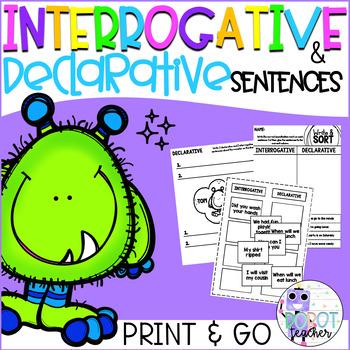 Interrogative and Declarative Sentences Sentences