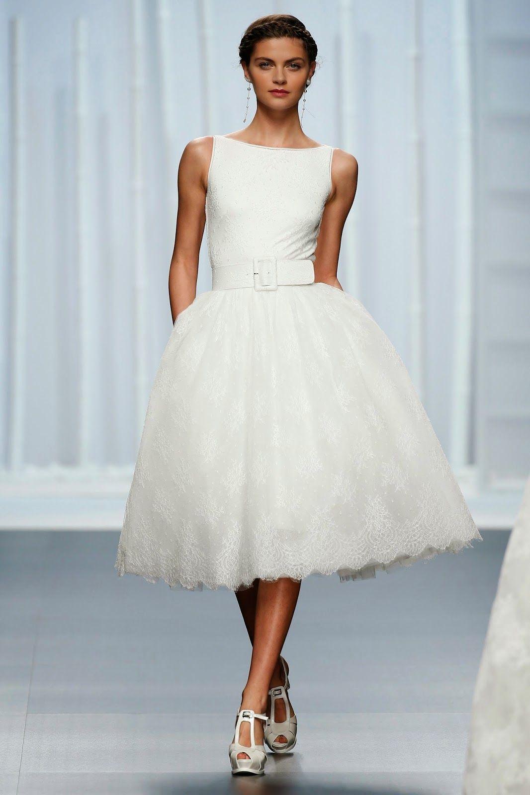 Rosa Clarà #abitosposacorto2016 #wedding #bride #bridal #nozze ...