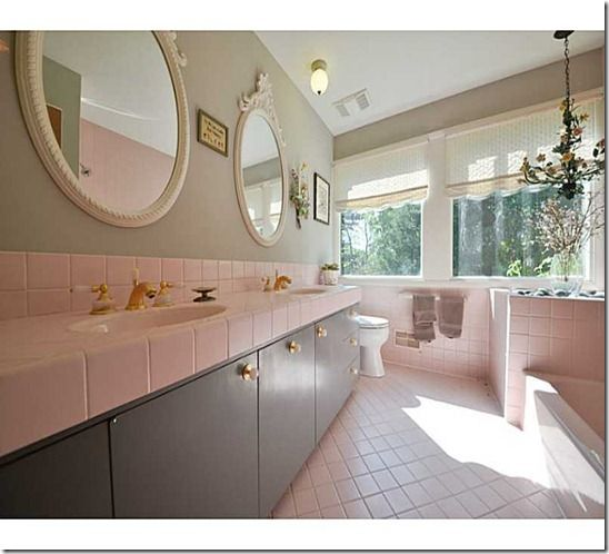 Some Great Pink Tile From A Home In Indianapolis Indiana Http