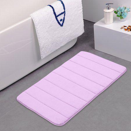 "New 32/""x20/'/' Non-Slip Back Rug Soft  Memory Foam Bath Mat Bathroom Carpet"