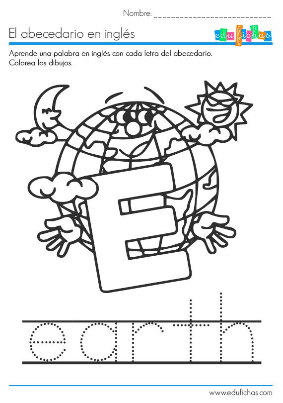 Descarga Nuestro Cuadernillo Del Abecedario En Ingles En Pdf Gratis Con Una Palabra De Vocabulario Abecedario Ingles Cuaderno De Ingles Ingles Para Preescolar