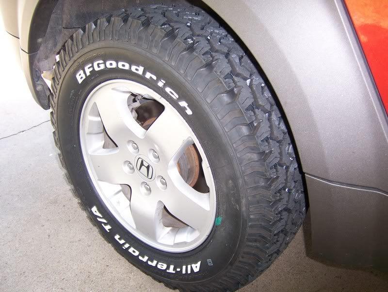 BFG 225/75R16 Honda element, All terrain tyres, Offroad