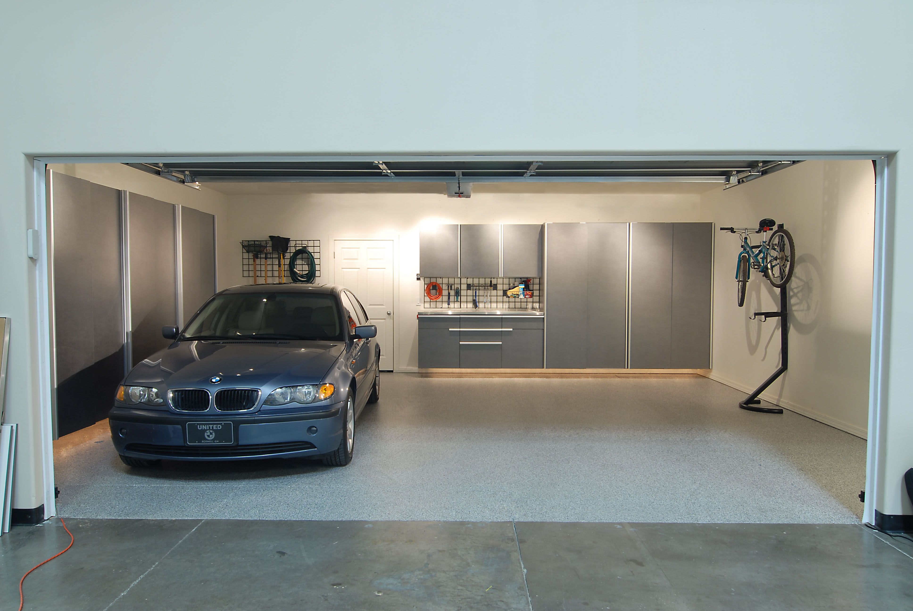 Stylish Garage Cabinets Modernize This Garage From Tailored Living Powered  By Premier Garage