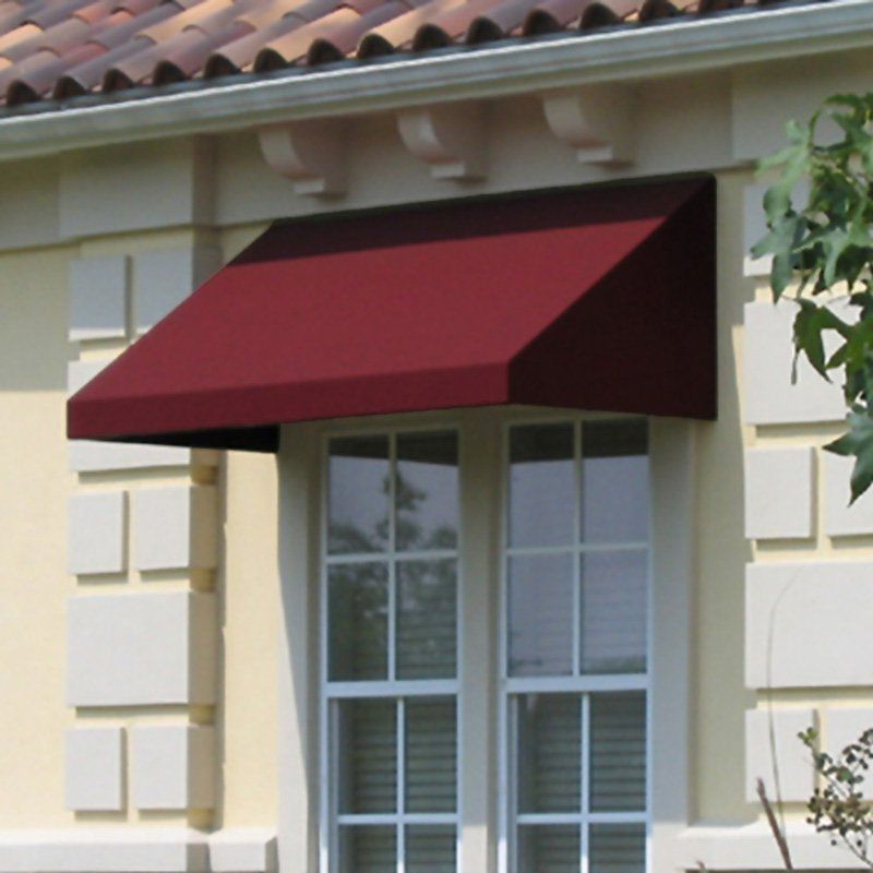 info for d0cdf be631 Awntech Beauty-Mark New Yorker 6 ft. Low Eaves Window/Door ...