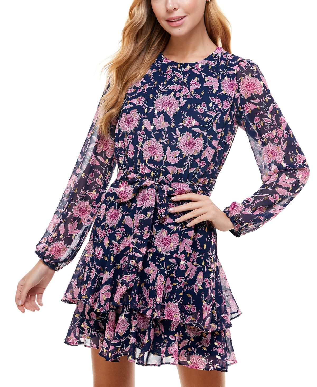 27+ City studios juniors floral embroidered fit flare dress trends