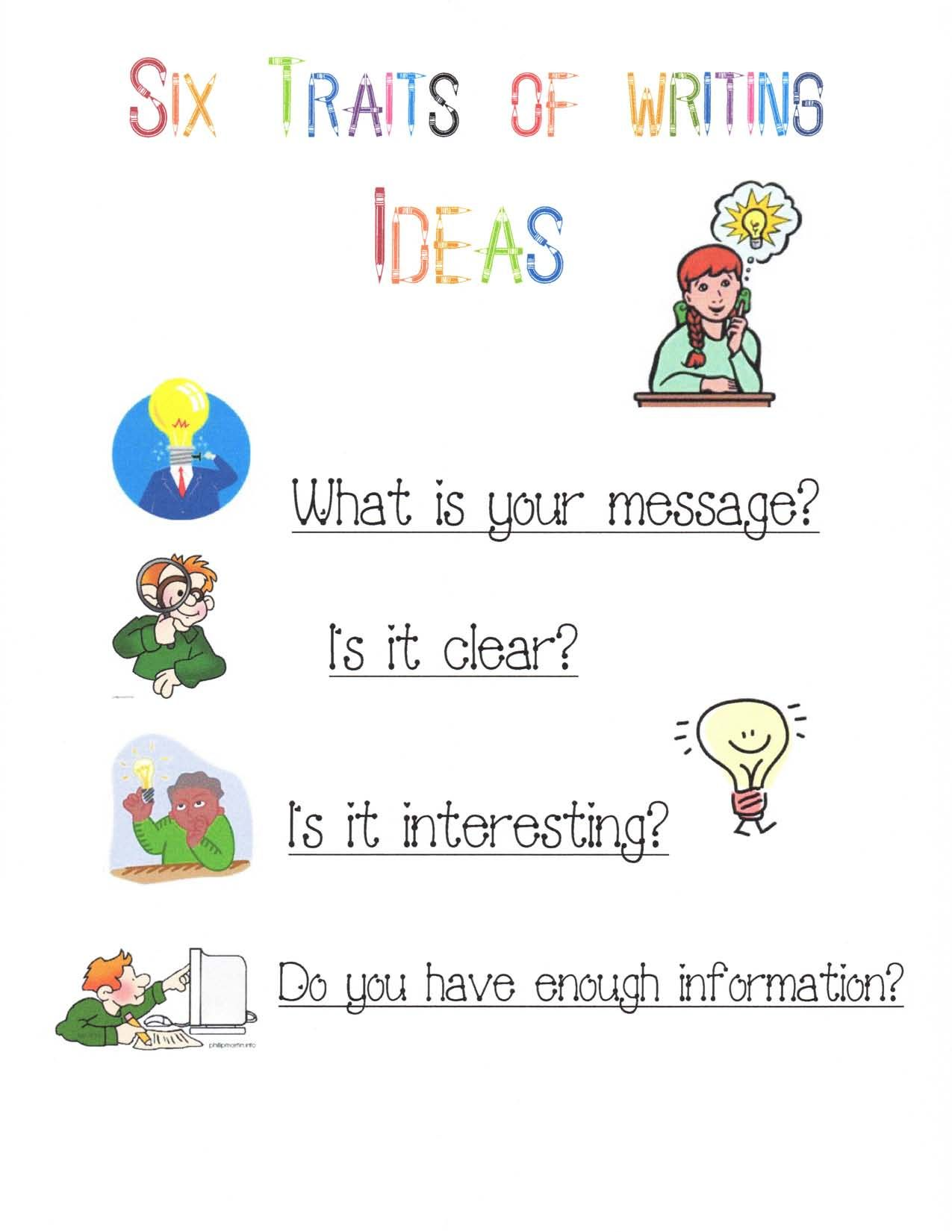 More Back To School Ideas Decorating Your Room With Anchor Charts Writing Anchor Charts Writing Traits Writing Worksheets [ 1650 x 1275 Pixel ]