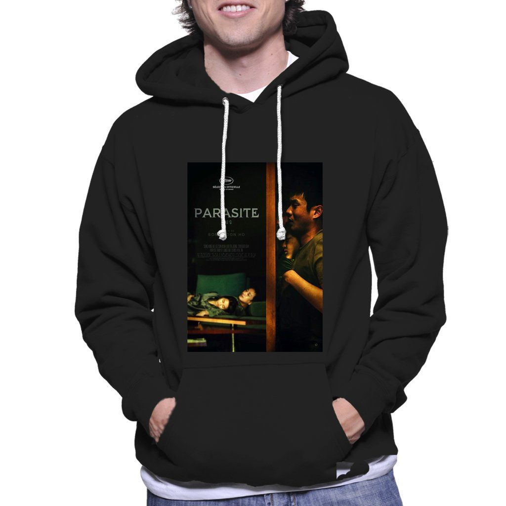Parasite Movie Under The Table Poster Unisex Hoodie