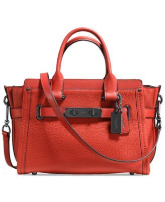 d903148a30 COACH Swagger 27 in Pebble Leather