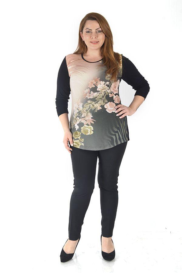 799e89e5fc5fa Geniş V Yaka Siyah Triko Bluz | giyim | Tops, Fashion ve Tees