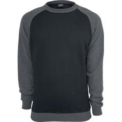 Photo of Urban Classics 2-Tone Raglan Sweatshirt Urban ClassicsUrban Classics