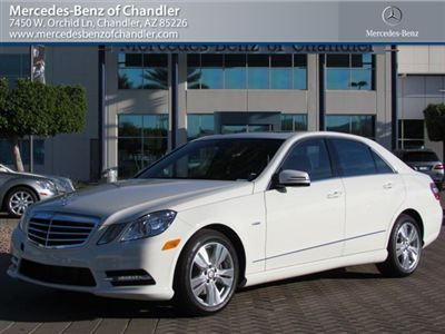 This Mercedes Benz E350 Sport Is Gorgeous In Arctic White