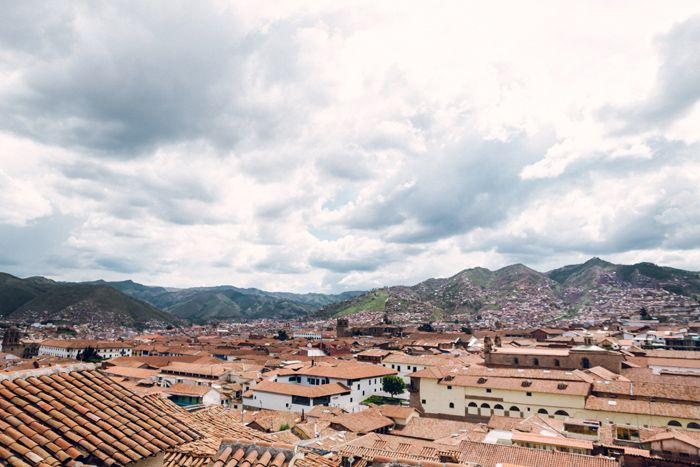 Image result for Overlooking Cusco in Peru.
