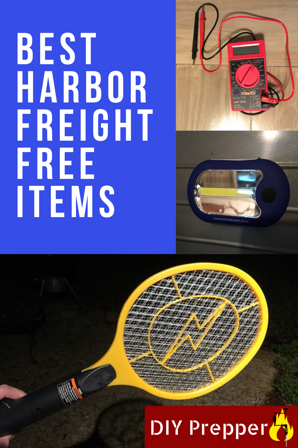 Best Harbor Freight Free Items DIY Prepper in 2020