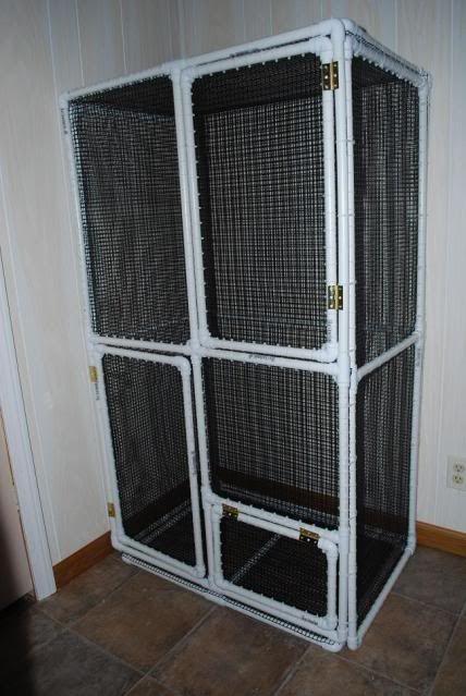glidergossip tutorial how to build a pvc cage glider