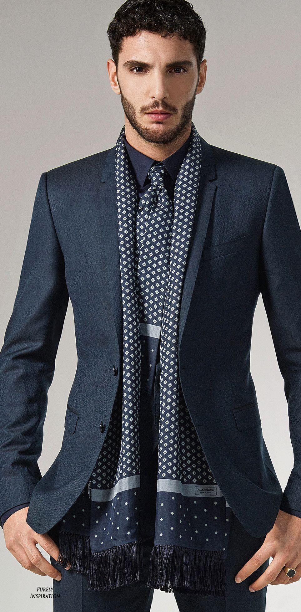 Dolce u Gabbana FW Menswear Collection Purely Inspiration