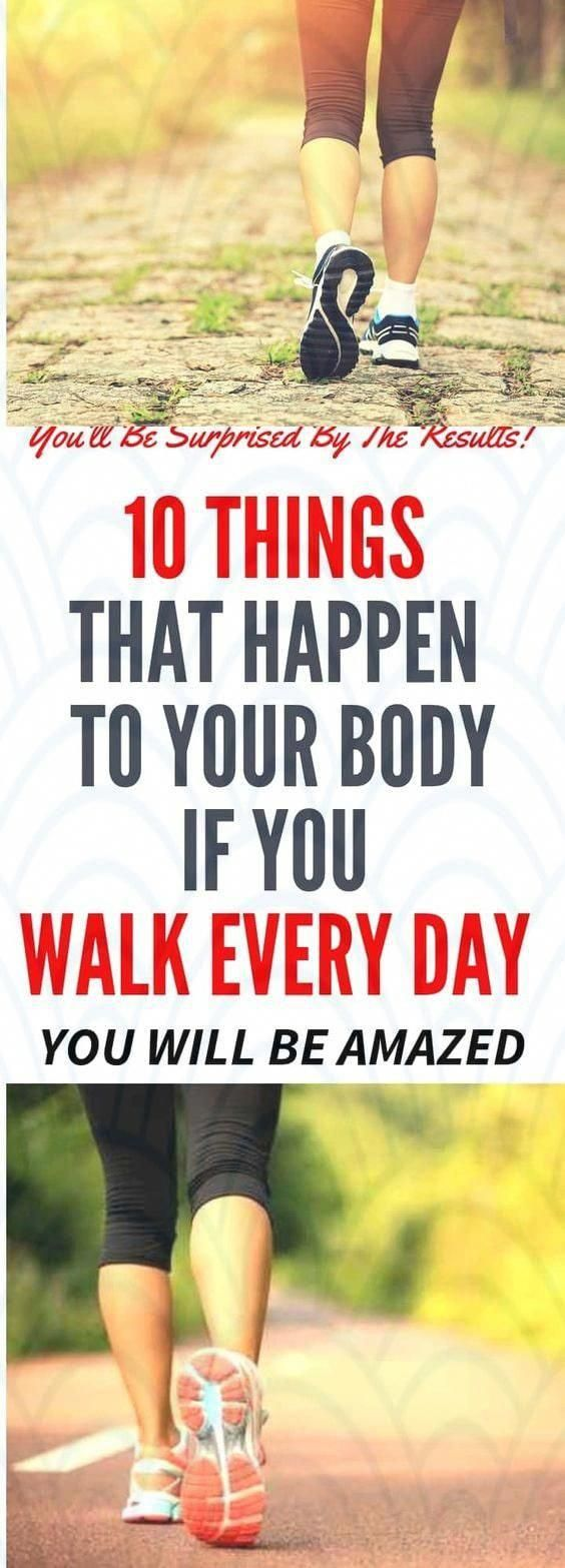 What Will Happen to Your Body If You Walk Every Day - Walking is definitely an underrated exercise w...