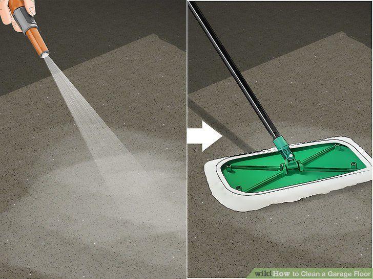 How To Clean Garage Floor After Winter Flooring Ideas Clean Garage Floor Clean Garage Garage Floor