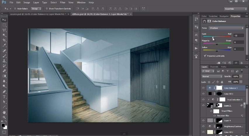 Interior Design Post Production Tutorial