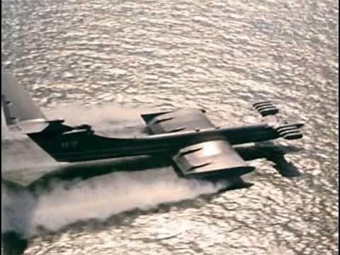 The Caspian Sea Monster ( Ekranoplan ) - YouTube