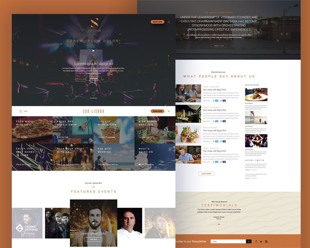 Download Free Music Event Website Free Psd Template Download Psd Download Free Psd Resources For Desig Psd Template Free Event Website Free Website Templates