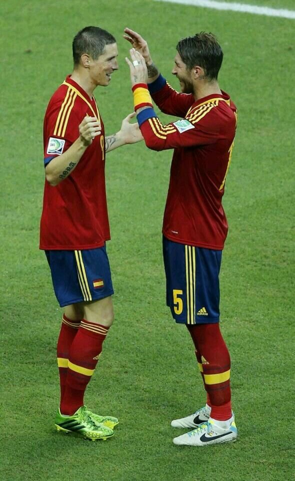 Fernando Torres, Sergio Ramos - Fernando Torres and Sergio