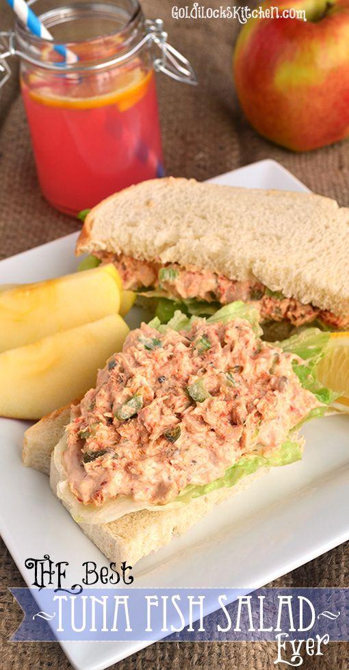The best tuna salad ever recipe tuna fish salad fish for Best tuna fish sandwich