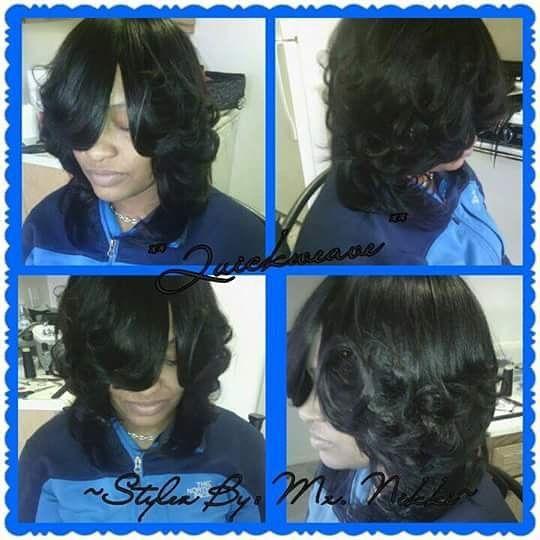 Full Quick Weave! Stylist: Mz. Nikki