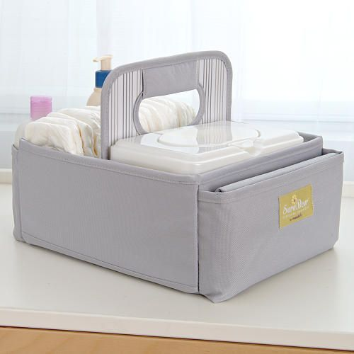 393d2b2475b8 Sara Bear Diaper Caddy - Gray - Sara Bear - Babies