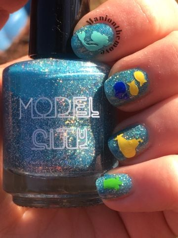 under the sea using boys of summermodel city polish