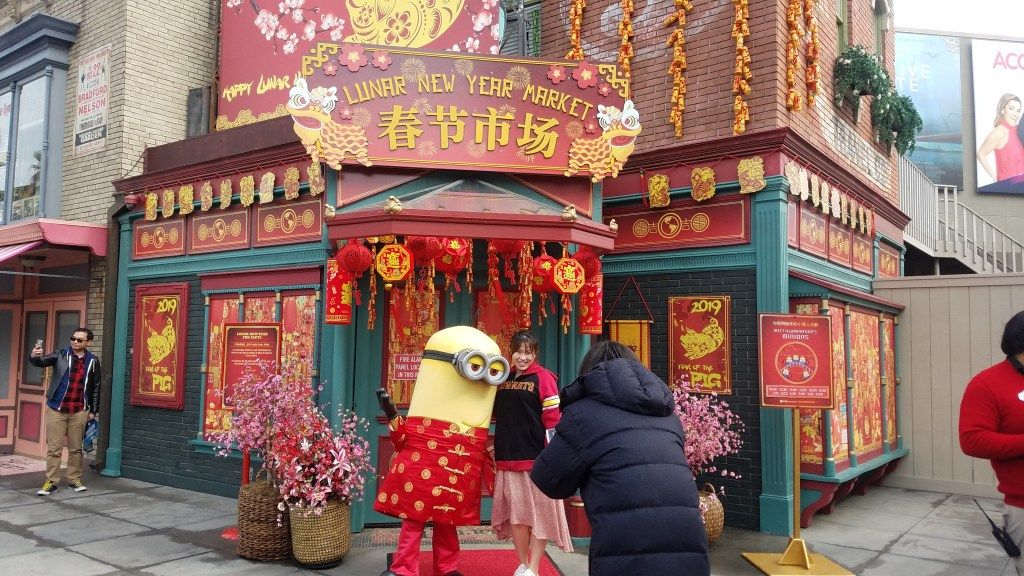 Rain Doesnt Ruin The Lunar New Year Celebration At Universal