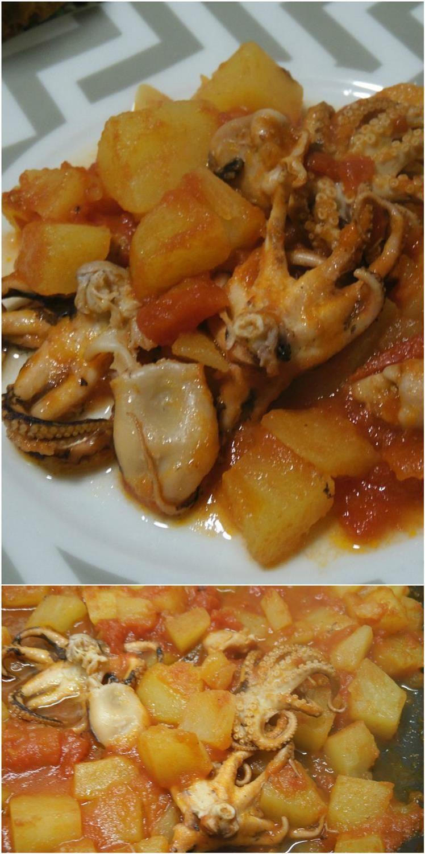 Polpo Con Patate E Pomodori Ricetta Secondi Di Pesce Ricette