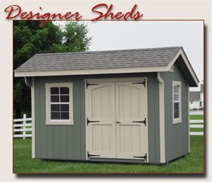 Amish Built Storage Sheds Shed Custom Sheds Backyard Porch