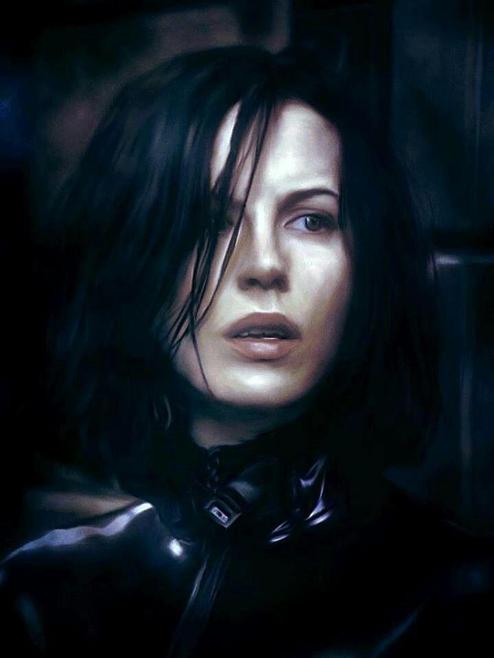 Kate Beckinsale As The Vampire Selene In Underworld Next Hair Cut