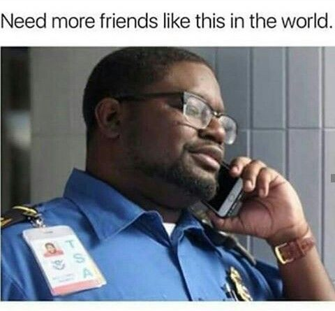 Lmao The Security Guy In The Movie Get Out Funny