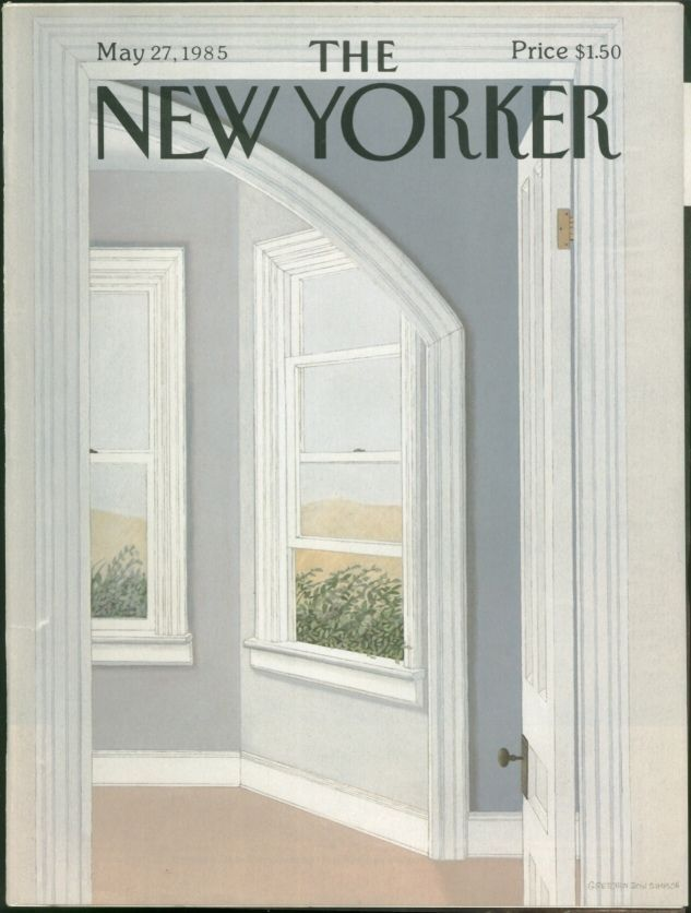 New Yorker Magazine - May 27, 1985 - Cover by Gretchen Dow Simpson