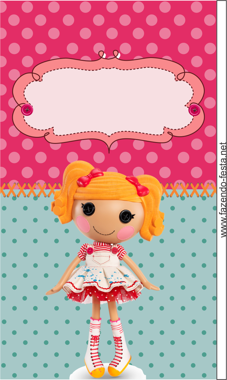 Lalaloopsy Free Printable Kit: cards, toppers, bookmarks, cupcake ...