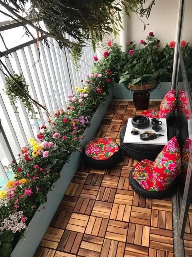 Photo of 37 Fine living room balcony decoration – Modern