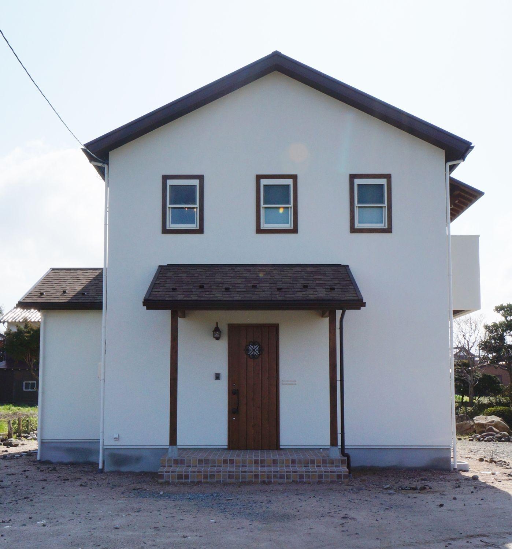 元気になれる明るいキッチンのお家 島根県で注文住宅を建てるタケシバ