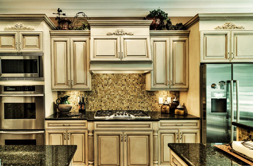lovely Kitchen Cabinet Painting Techniques #1: 1000+ images about Kitchen Makeover on Pinterest | Furniture, Cabinets and Glaze