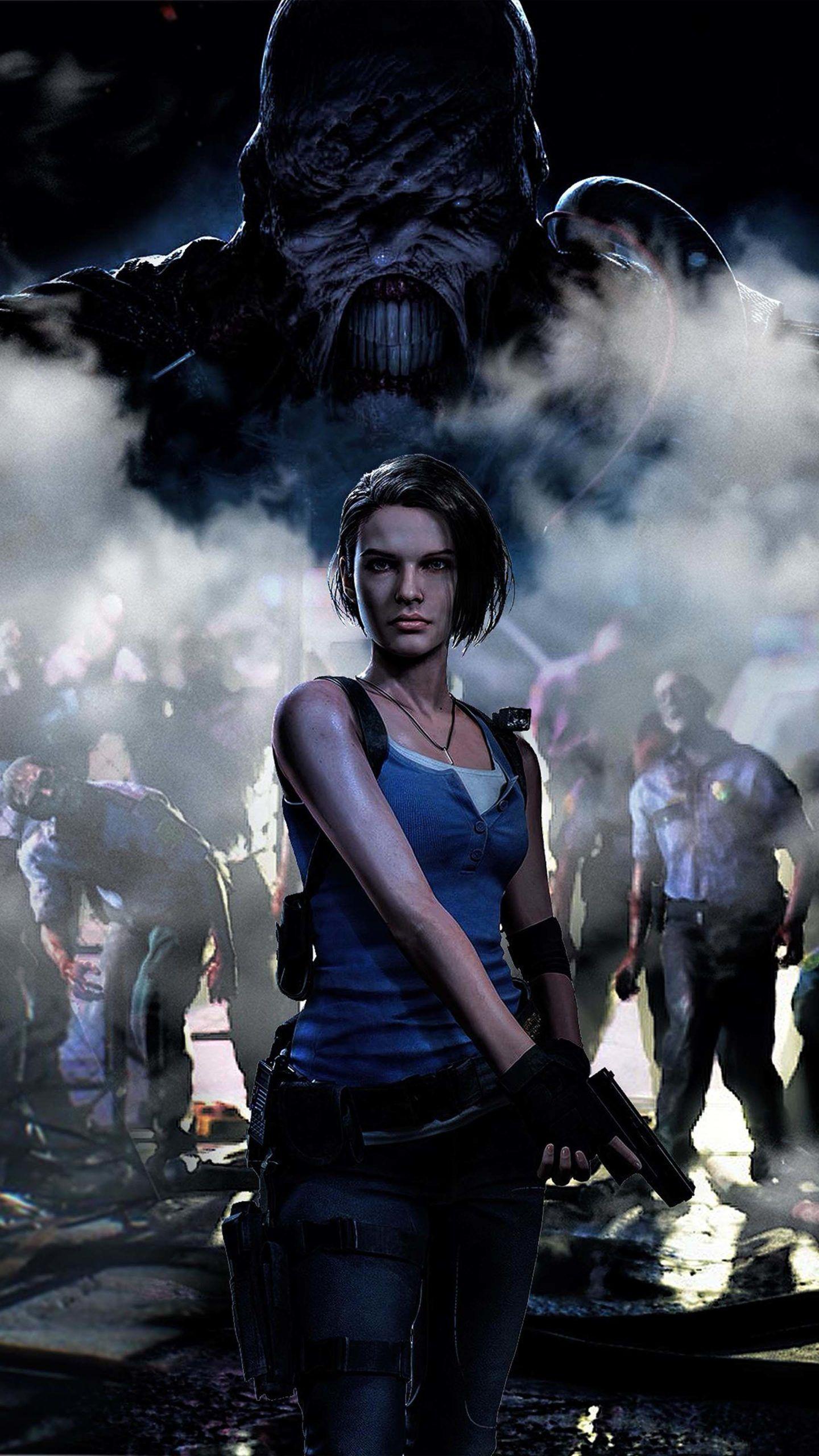Jill Valentine Resident Evil 3 4k Ultra Hd Mobile Wallpaper In 2021 Resident Evil Girl Jill Valentine Resident Evil Resident Evil 3 Remake