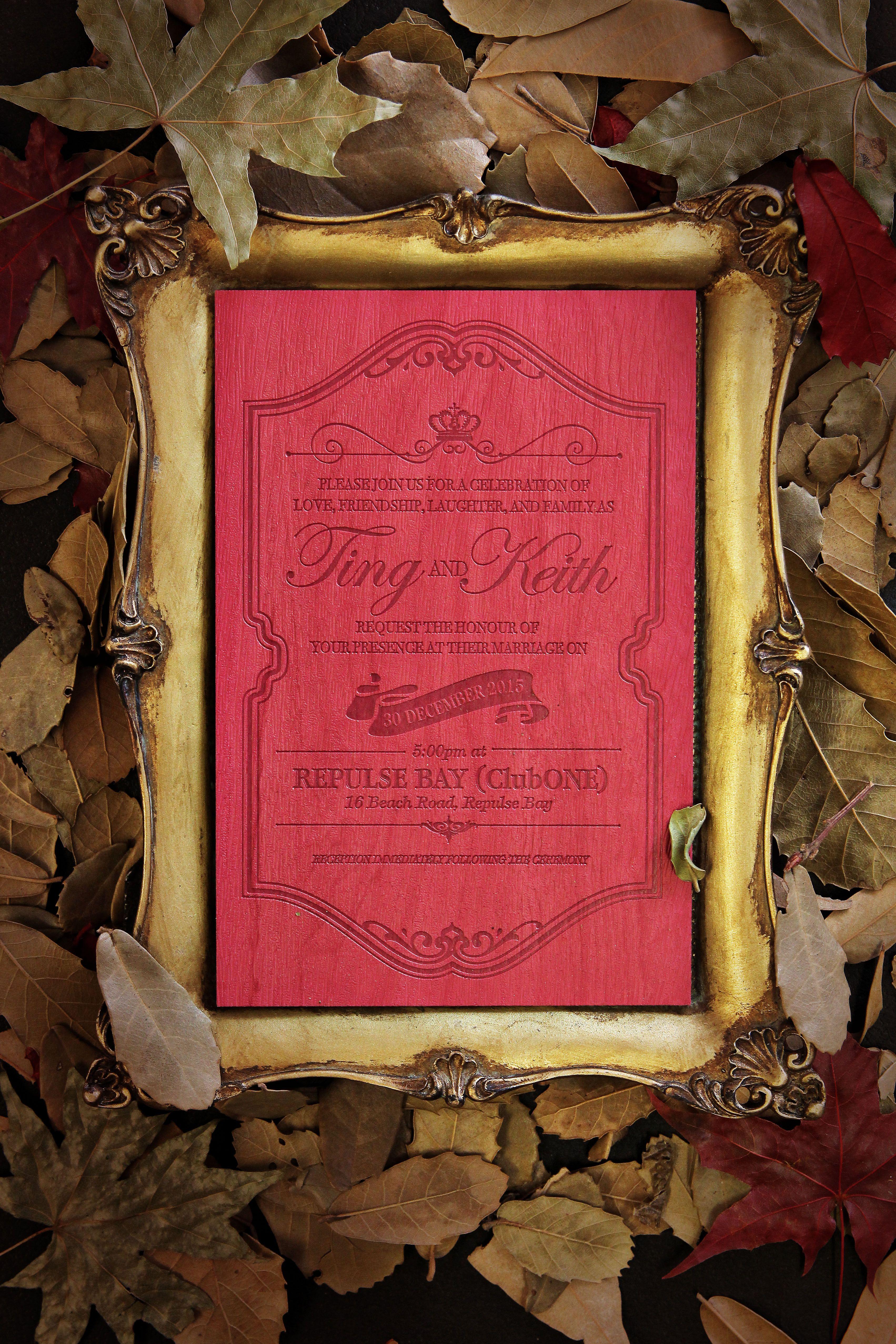 Wedding Invitation Card Design 喜帖設計 #wedding #weddingcard ...