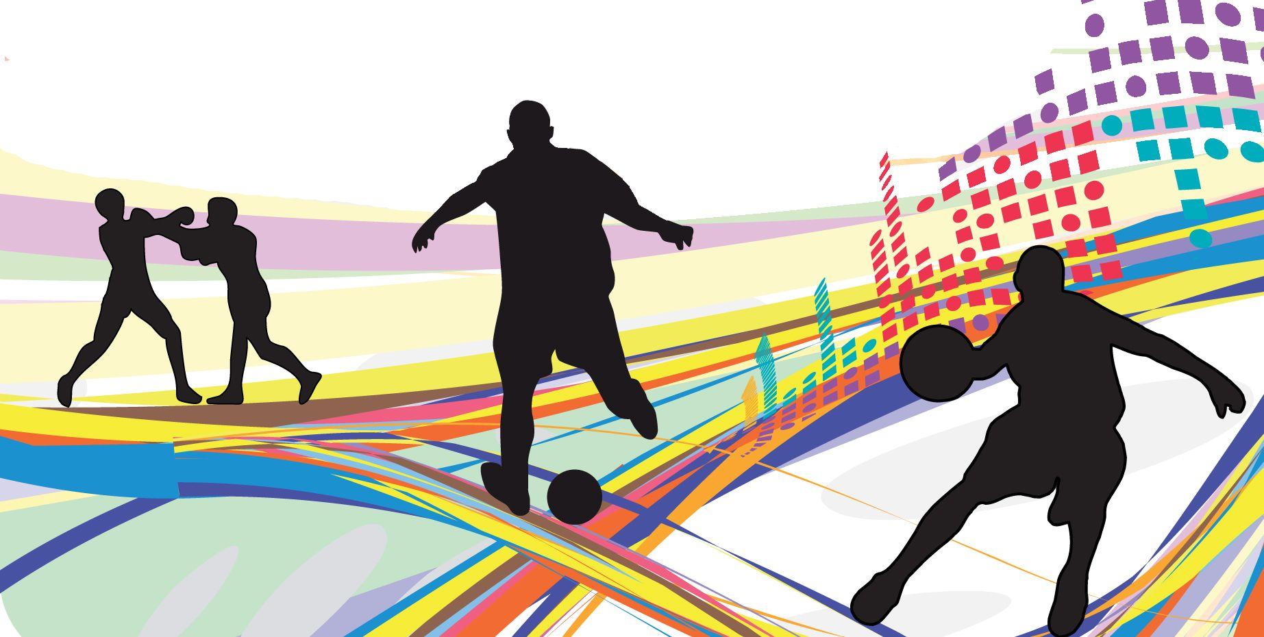 Art Shadow Ombre Pop Sport Sports, Sport