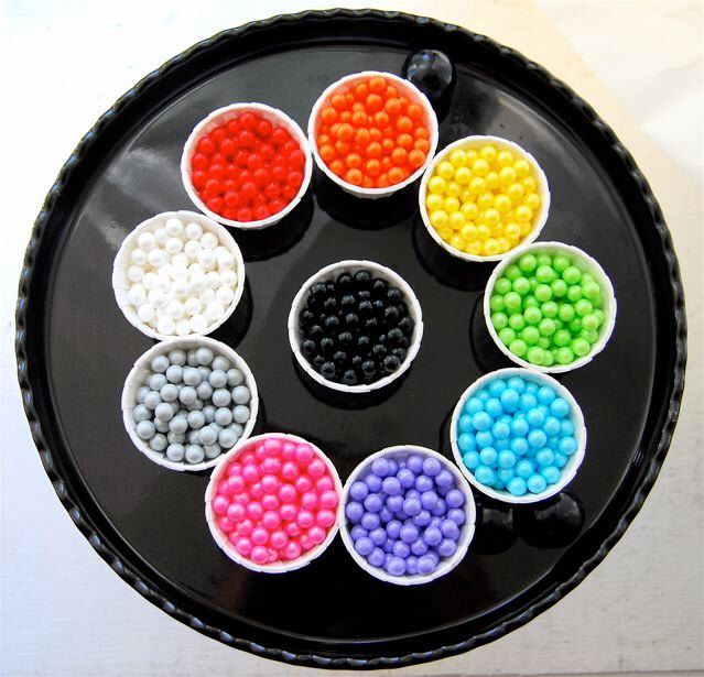 Rainbow assortment of Pearl Candy Beads (10 ounces) by CupcakeSocial on Etsy https://www.etsy.com/listing/79662024/rainbow-assortment-of-pearl-candy-beads