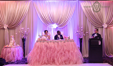 We Specialize In Wedding Flowers Decor Toronto Gta Services Include Centerpieces Backdrops Linens And Ceremony Decorations