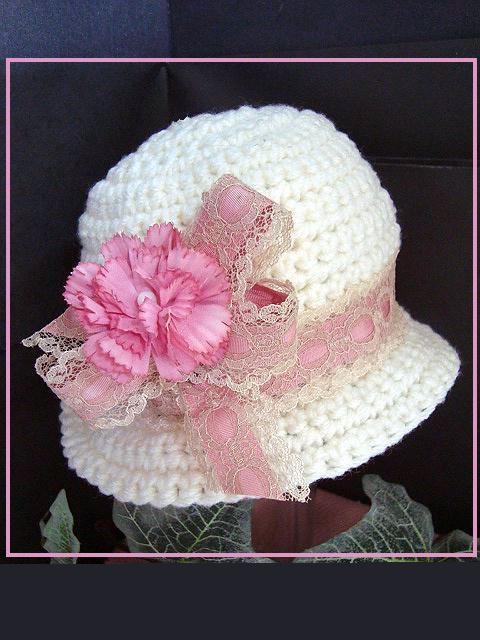 HAT CROCHET PATTERN - Carlie Cloche Hat - Cute dressy summer hat ...