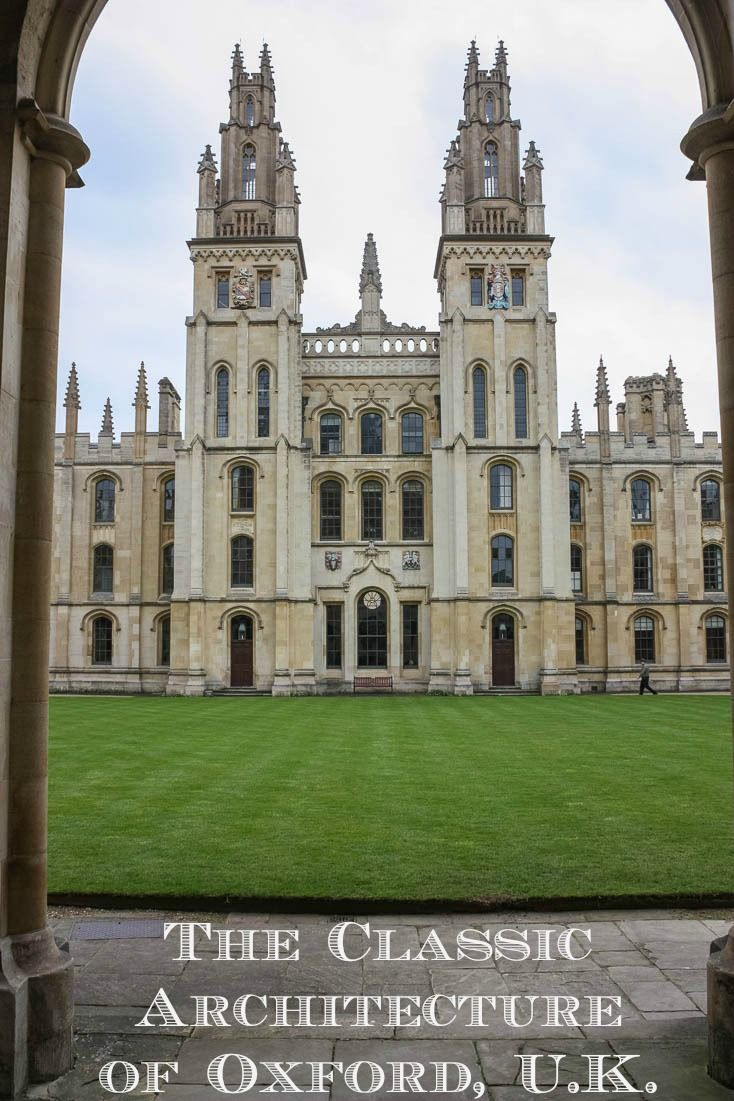 The University of Oxford in England is one of the city's examples of every English architectural period since the 11th century. via @Rhondaalbom