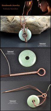 Photo of wire wrap tutorials, wire wrap, wire wrapped, wire jewelry, handmade  wire wrap …