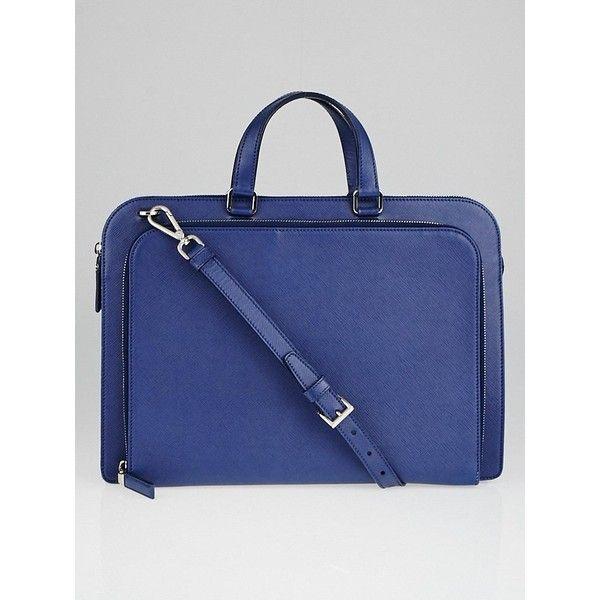 c8da6305 Pre-owned Prada Baltico Saffiano Leather Briefcase Bag VR0078 (£705 ...