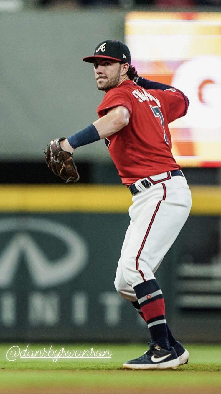 Pin By Sj Anderson On My Atlanta Braves In 2020 Atlanta Braves Dansby Swanson Braves